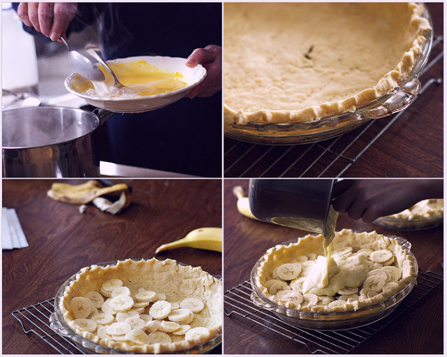 Grandma's Cooking School: Banana Cream Pie