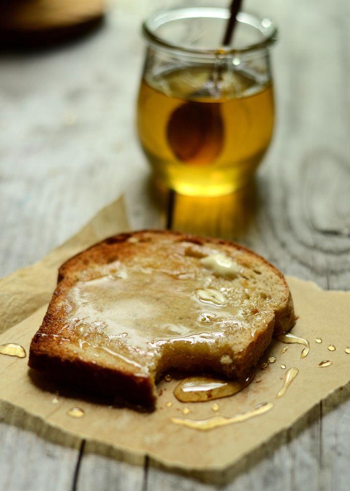Buttermilk Oatmeal Bread   Buttered Side Up