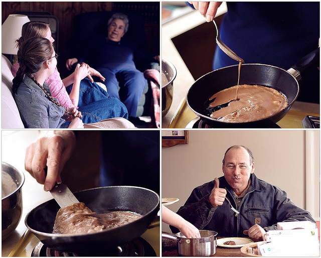 Grandma's Cooking School: Chocolate Crepes