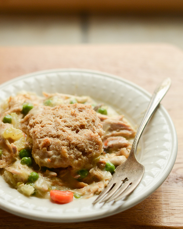 Chicken and Biscuits Pot Pie - Buttered Side Up 03