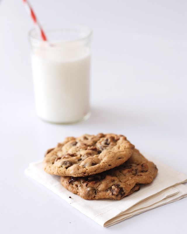 Perfect Chocolate Chip Cookies | Buttered Side Up