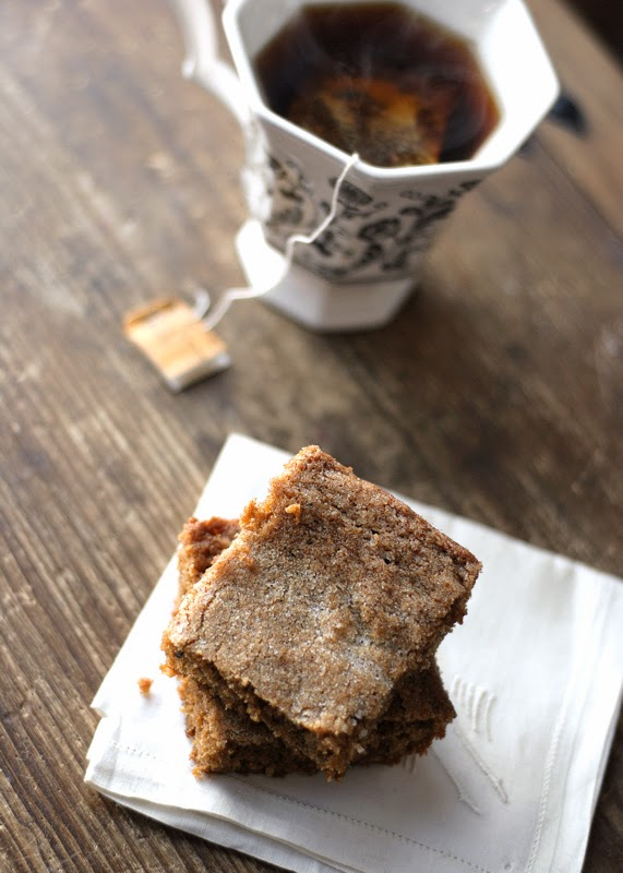 Chai Gingerbread Bars