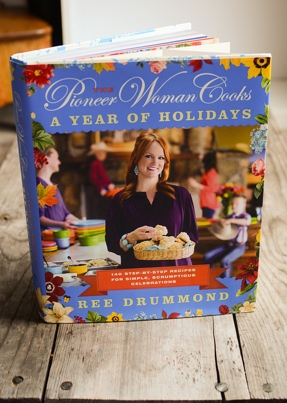 "GIVEAWAY: Pioneer Woman's New Cookbook: ""A Year of Holidays"""