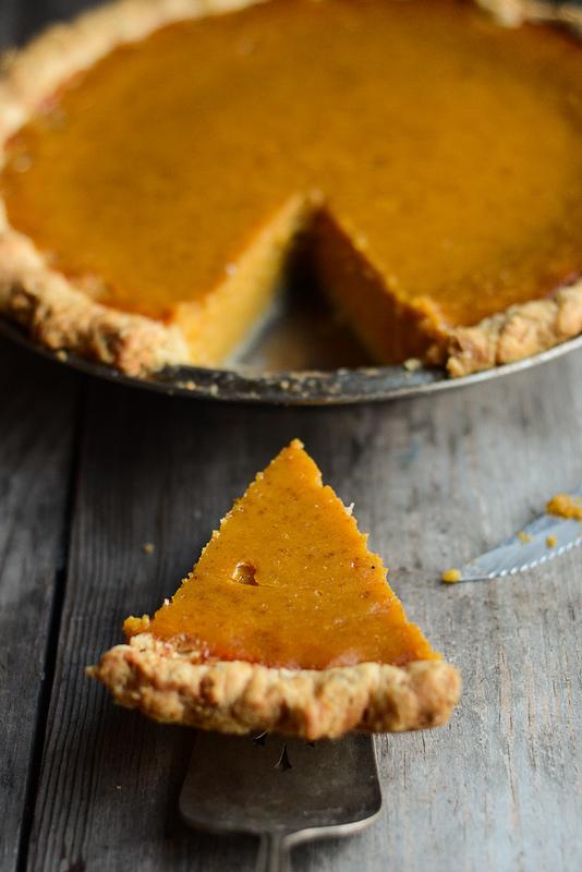 Pumpkin Pie - Buttered Side Up