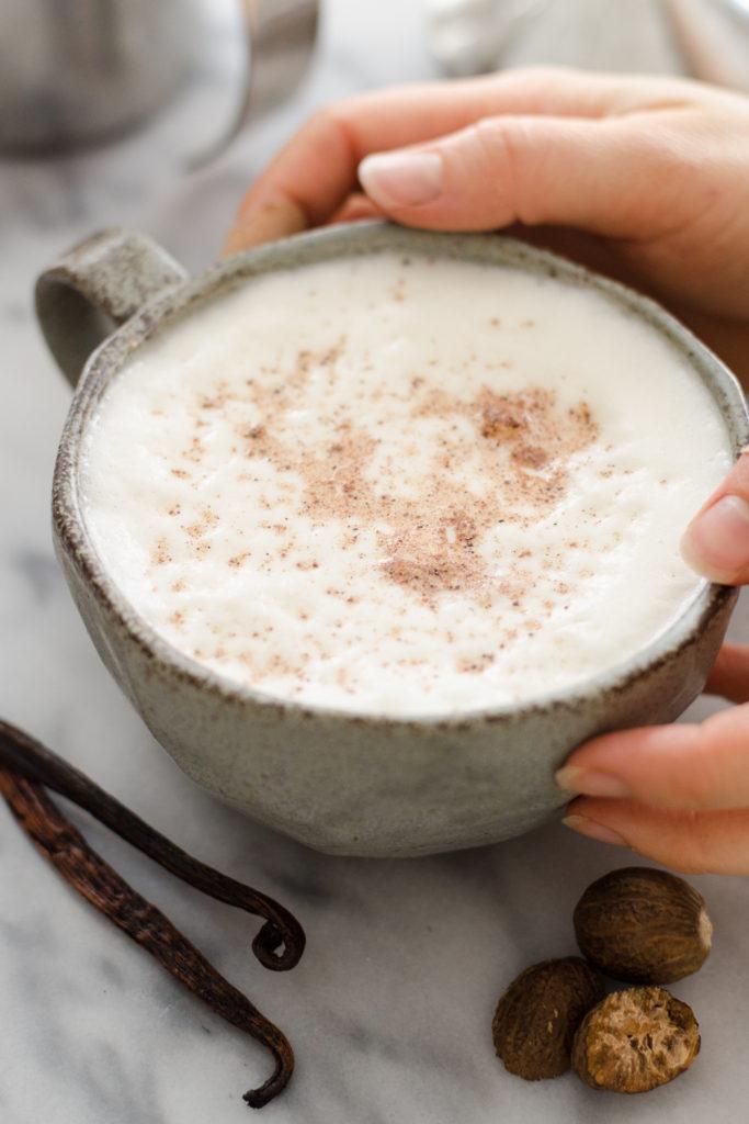 Eggnog Frothed Milk