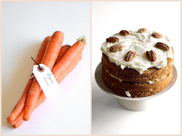 Carrot Cake with Maple Cream Cheese Frosting | Buttered Side Up