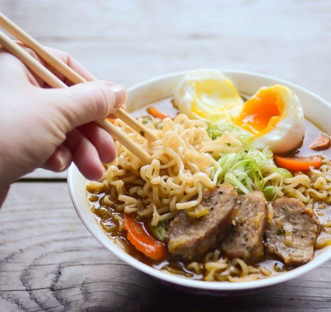 Homemade Ramen Noodle Soup!
