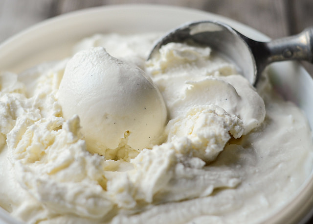 Vanilla Bean Ice Cream | Buttered Side Up