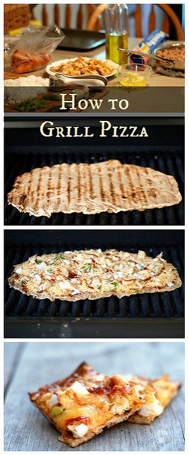 How To Grill Pizza | Buttered Side Up