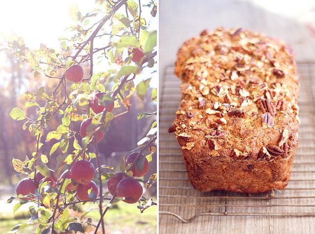 Maple Apple Pecan Bread