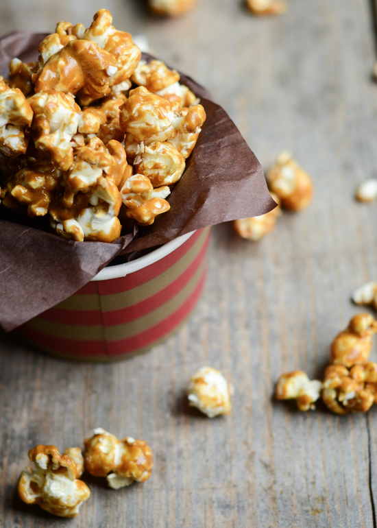 Homemade Salted Caramel Corn Recipe