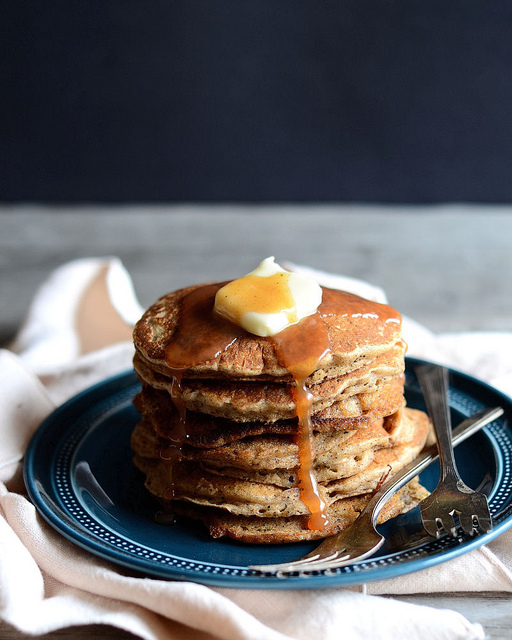 Dirty Chai Pancakes