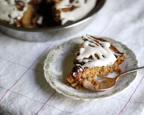 Cinnamon Roll Cake   Buttered Side Up
