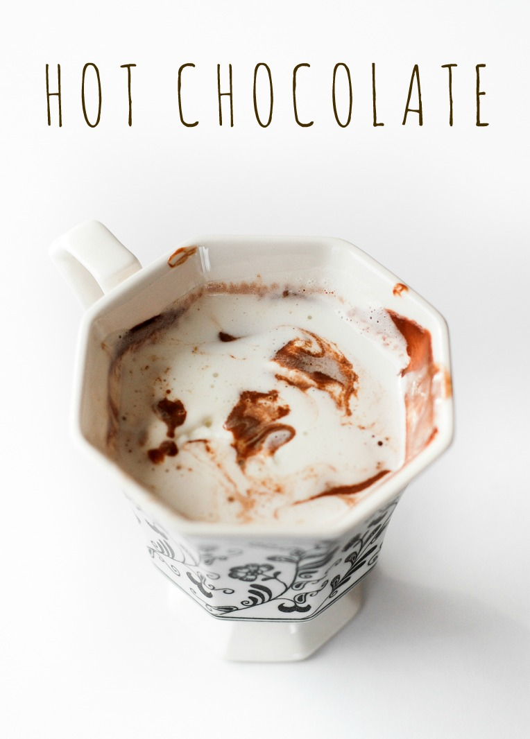 Homemade Hot Chocolate   Buttered Side Up