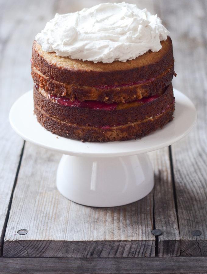 A Healthy Cake For Helen's 2nd Birthday (Coconut Flour, Paleo Friendly, Gluten Free)