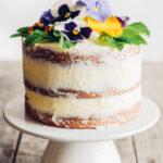 Triple Lemon Naked Layer Cake