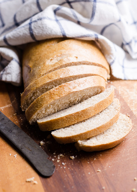 Transitional Whole Wheat French Bread