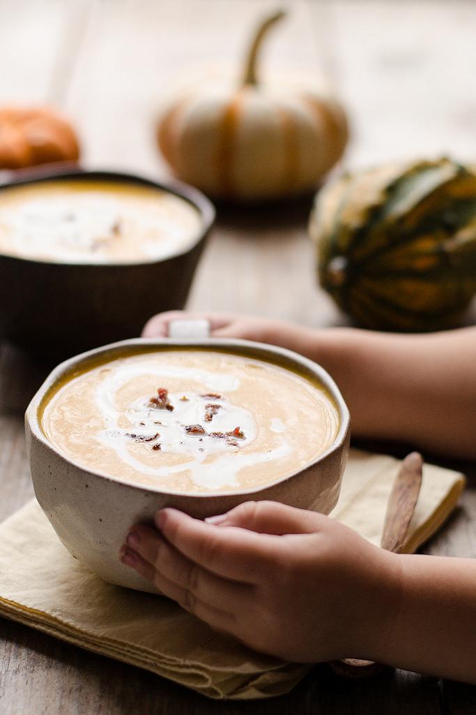 Roasted Butternut Squash Soup Recipe