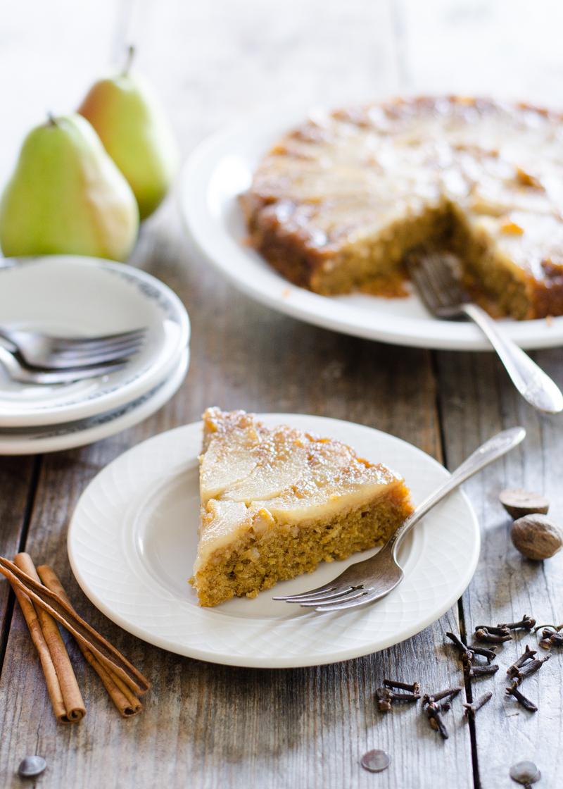 Pear Upside Down Cake 32