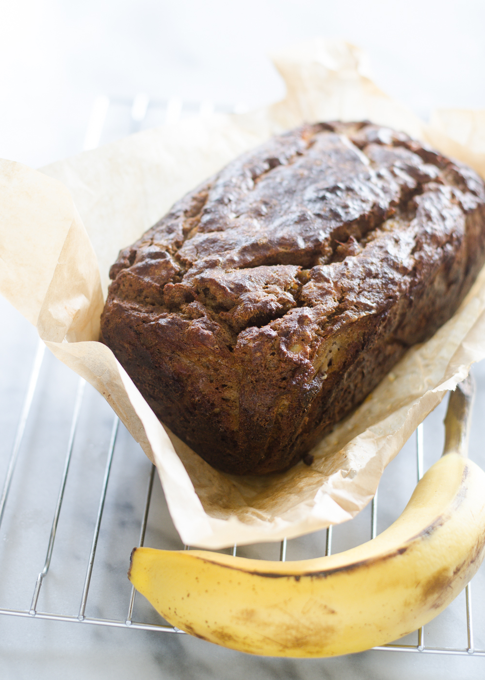 Coconut Flour Banana Bread (Gluten Free, Grain Free, Nut Free, Paleo Friendly, Sugar Free)
