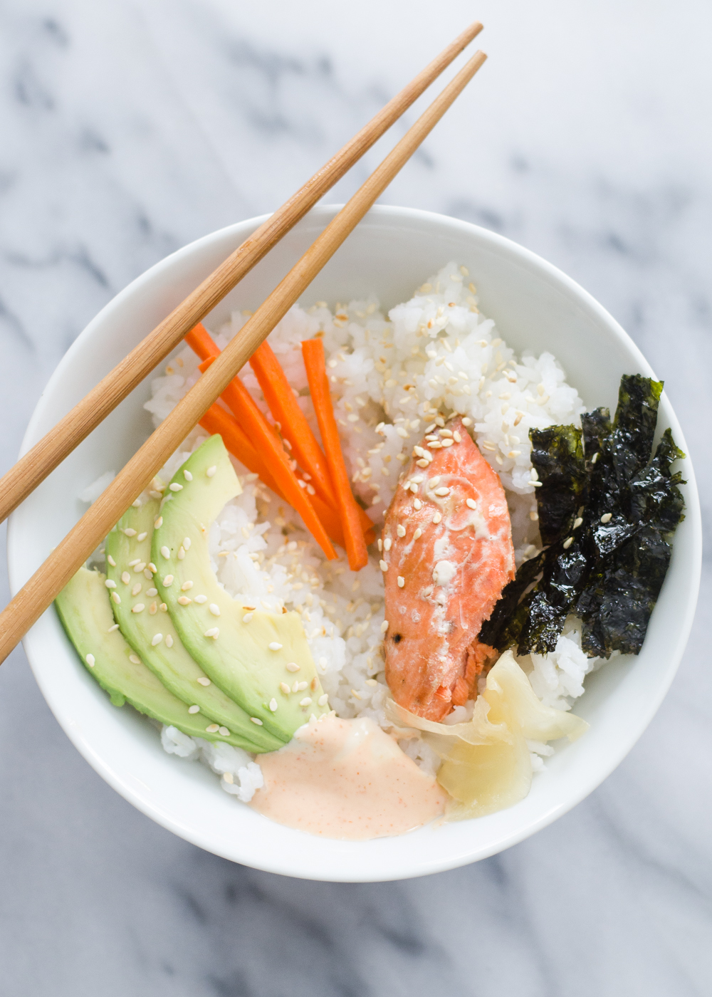 Sushi Rice Bowls   Buttered Side Up