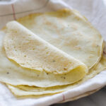These gluten and grain free tortillas are perfect for your paleo meal!