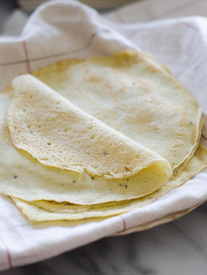 Paleo Tortillas/Crepes (Grain-Free)