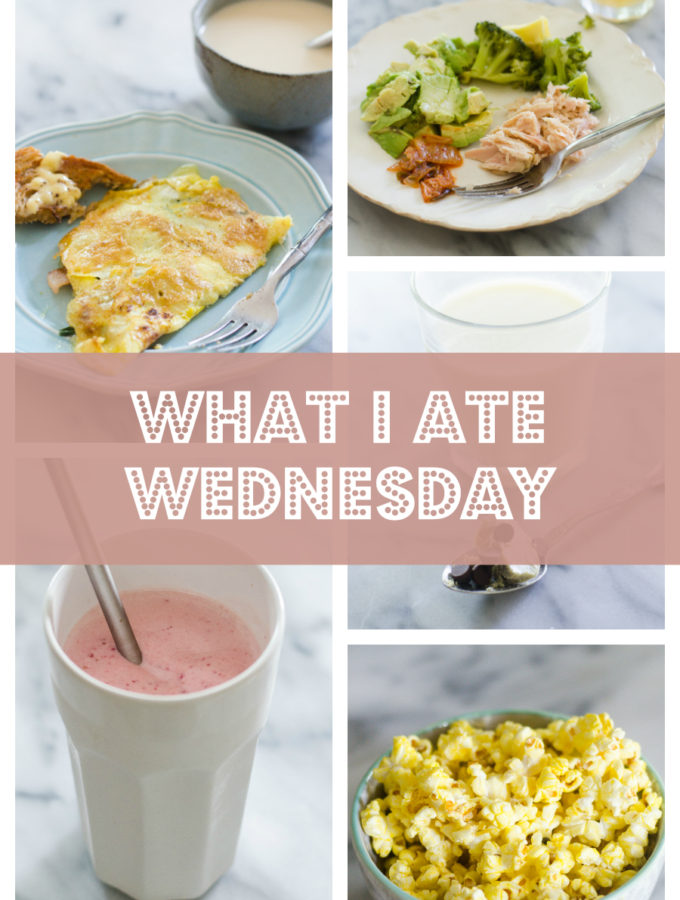 What I Ate Wednesday (6-8-16)