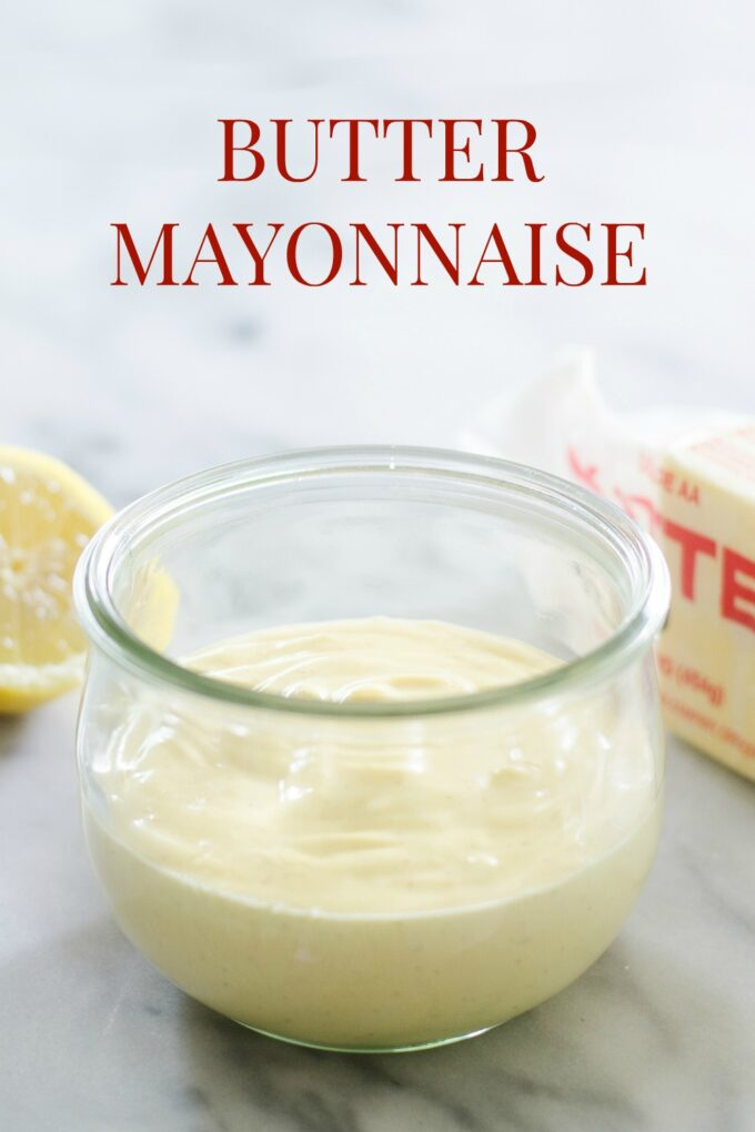 Butter Mayonnaise - Buttered Side Up