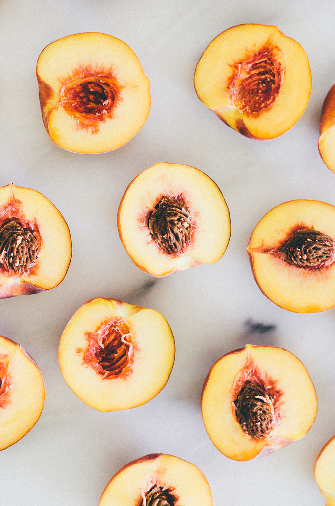 In Season Now- Peaches - Buttered Side Up
