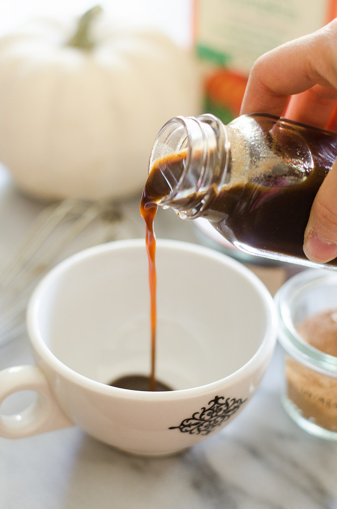 Organic Pumpkin Spice Latte Syrup