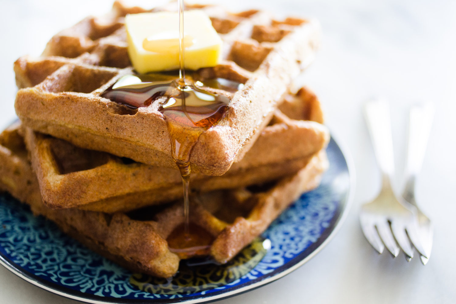 Gluten and Grain Free Waffles | Buttered Side Up