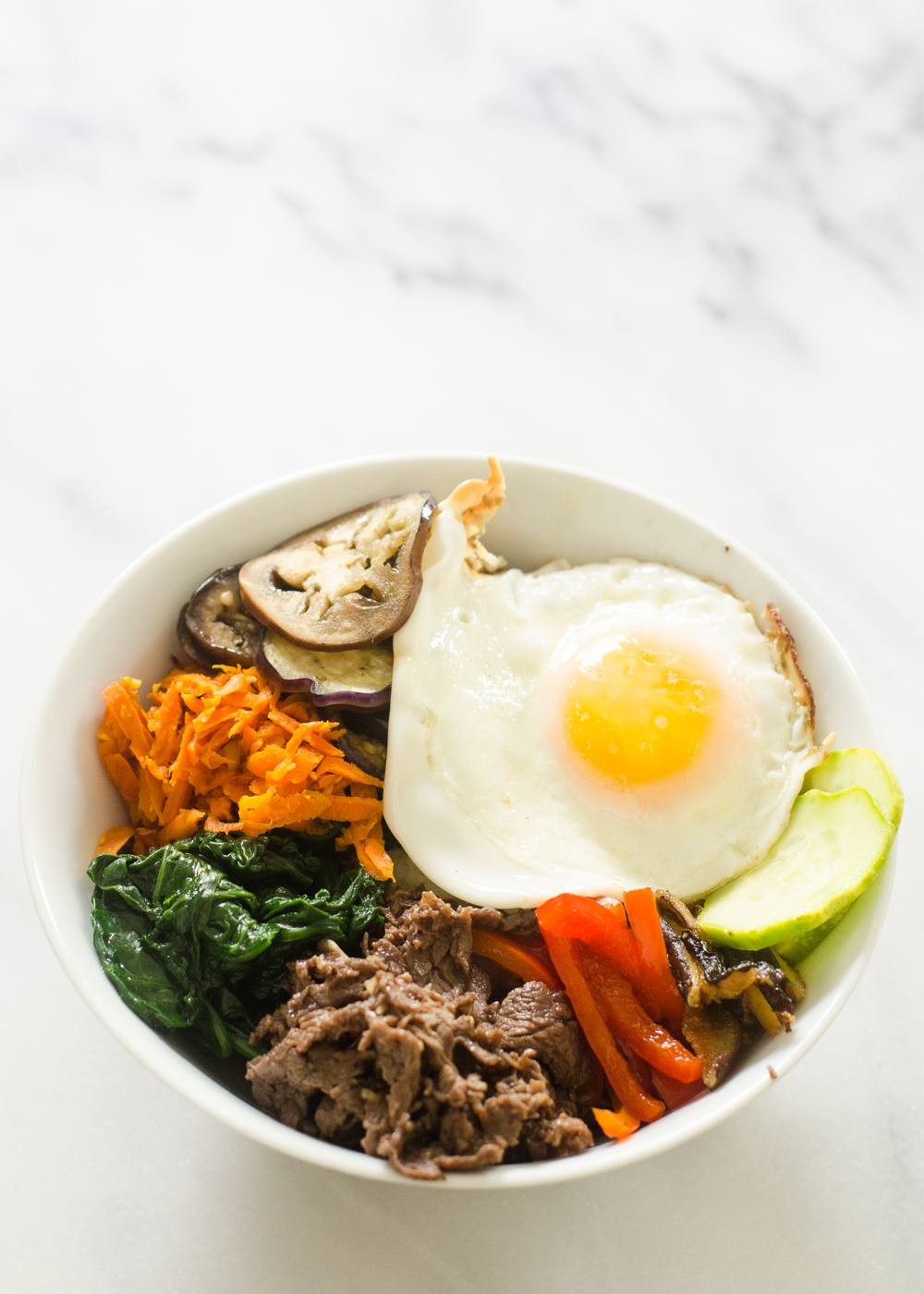 Butcher Box Review Meal 5 - Bibimbap 2