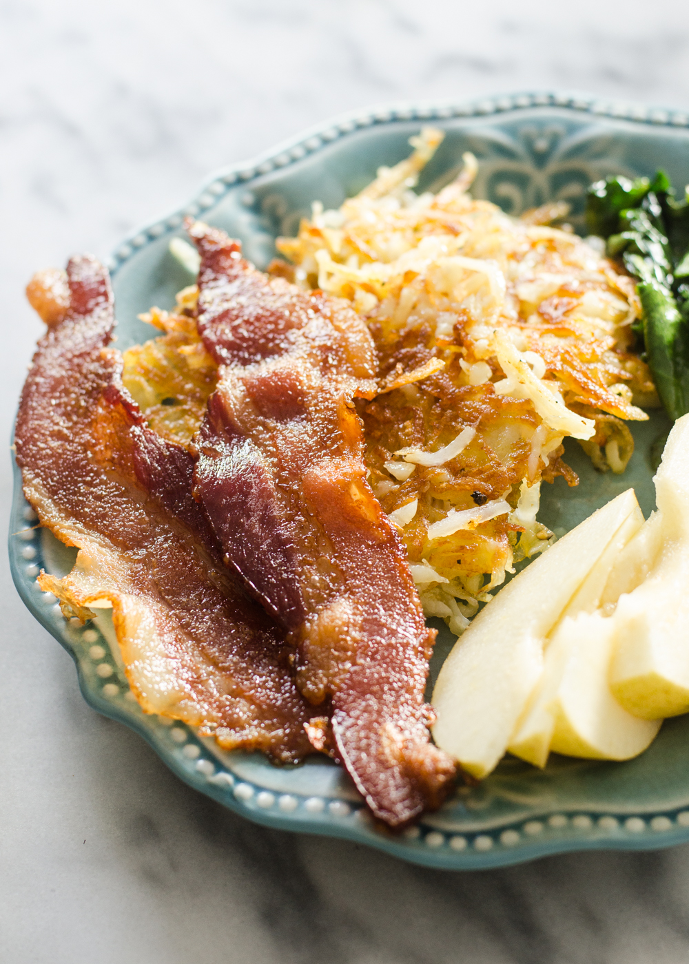 Butcher Box Review Meal 3 - Bacon & Hashbrowns