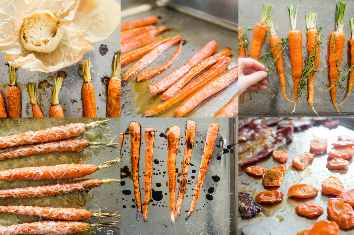 6 Ways to Make Roasted Carrots More Interesting