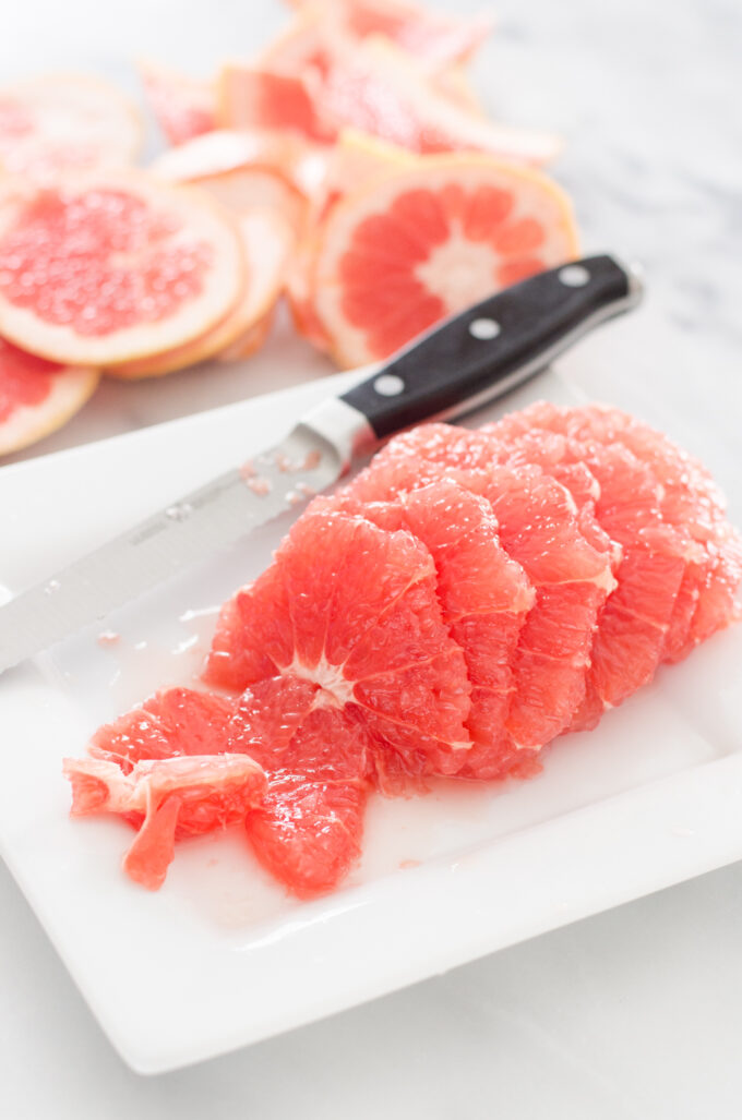 Grapefruit and Arugula Salad