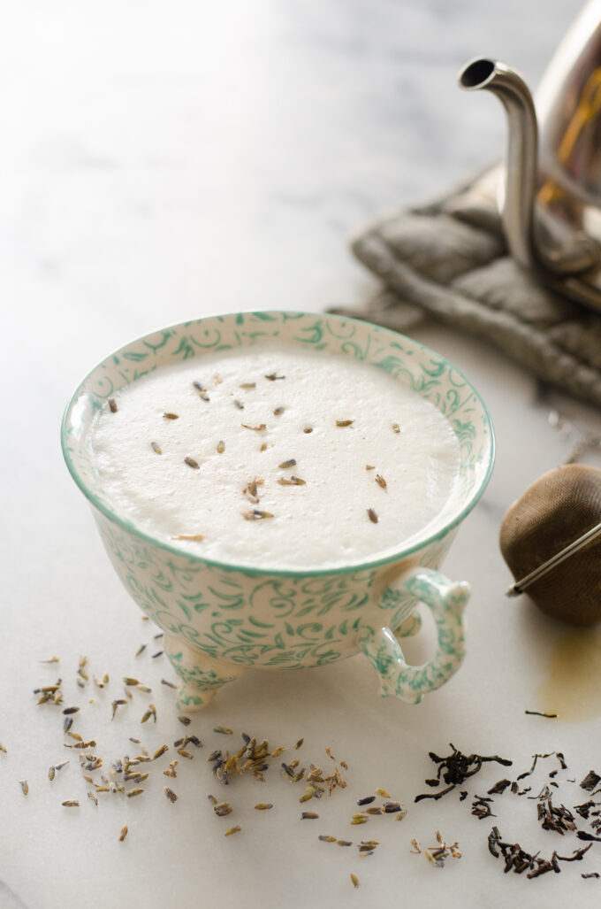 Homemade London Fog (Lavender Earl Grey) Latte