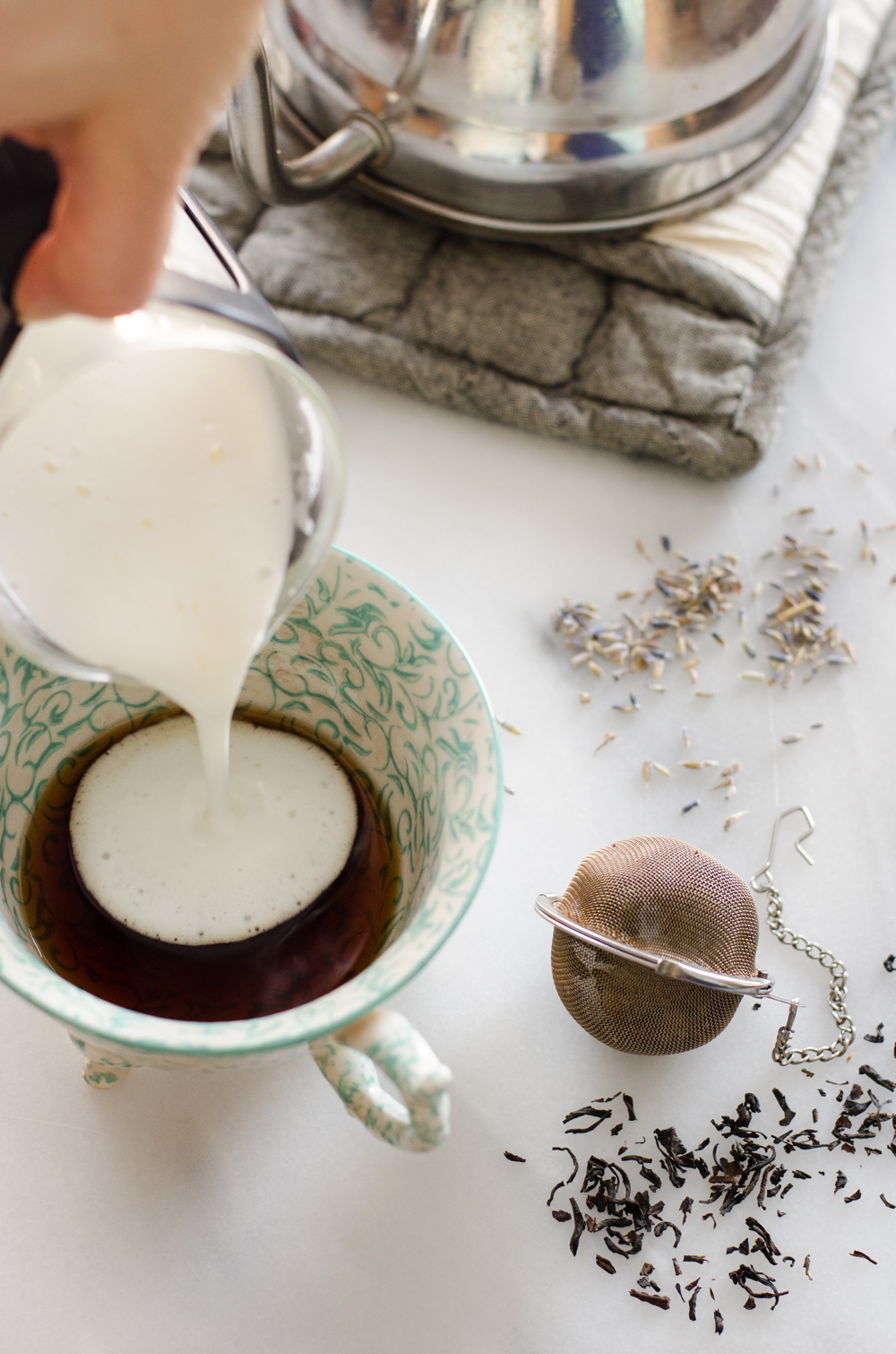 Homemade London Fog (Lavender Earl Grey) Latte