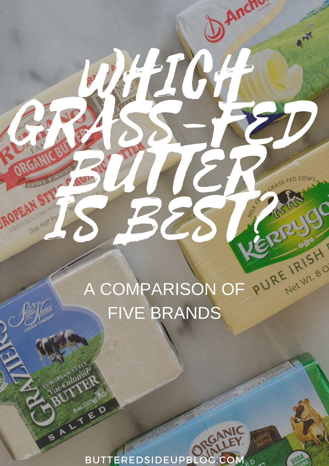 Which Grass-Fed Butter is the Best? - A Review of 5 Grass