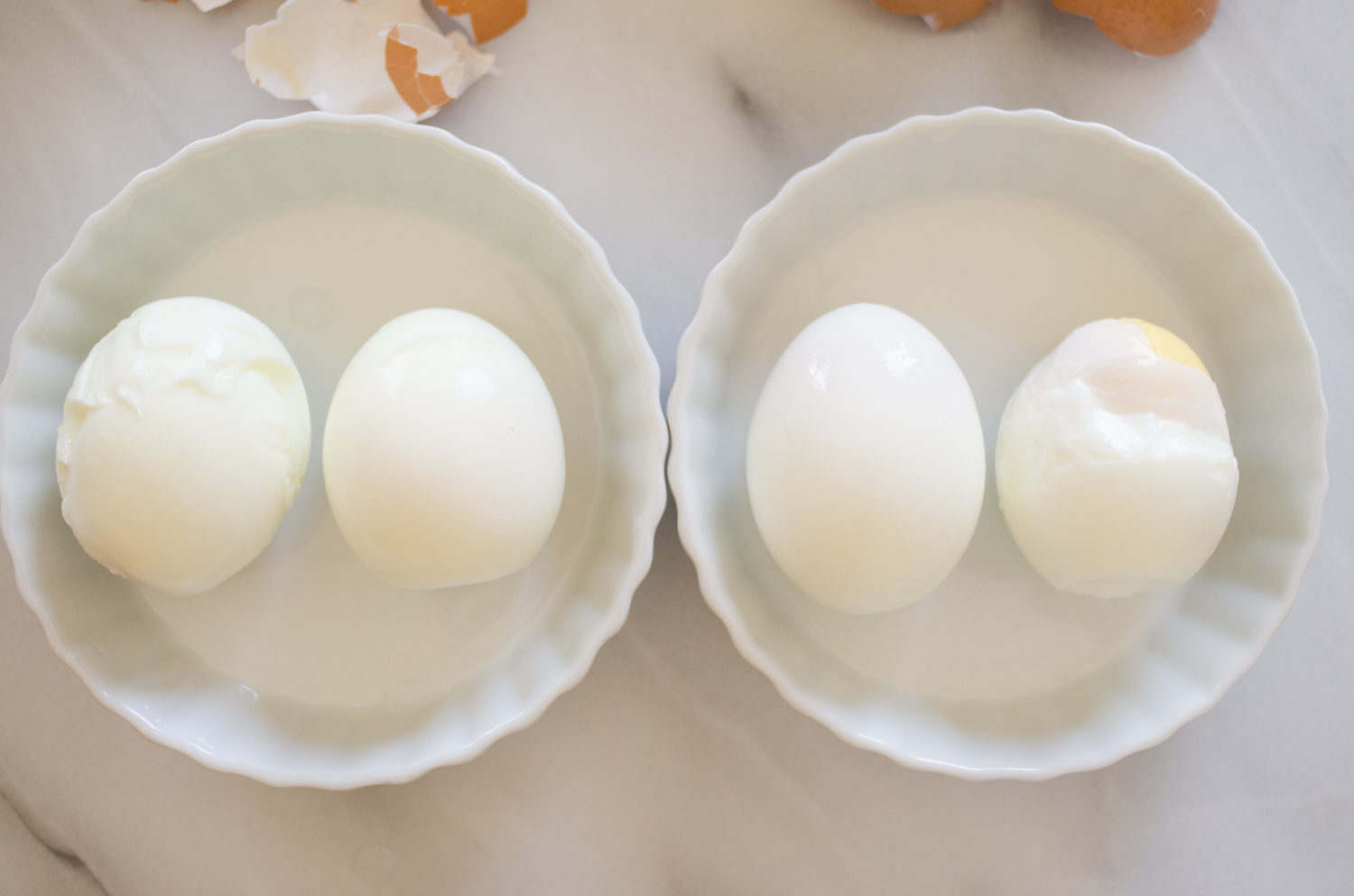 Pinterest Tested- Easy Peel Eggs