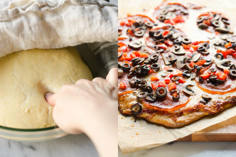 Einkorn Pizza Dough Recipe