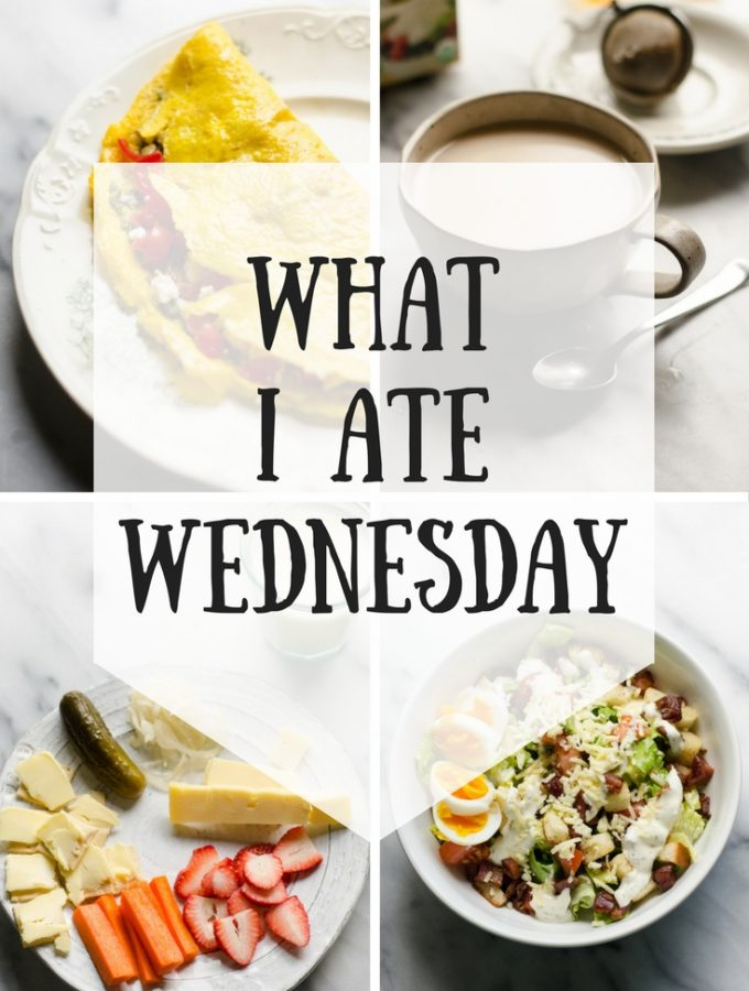 What I Ate Wednesday (6-7-2017)