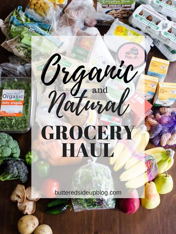 Organic/Natural Grocery Haul #1
