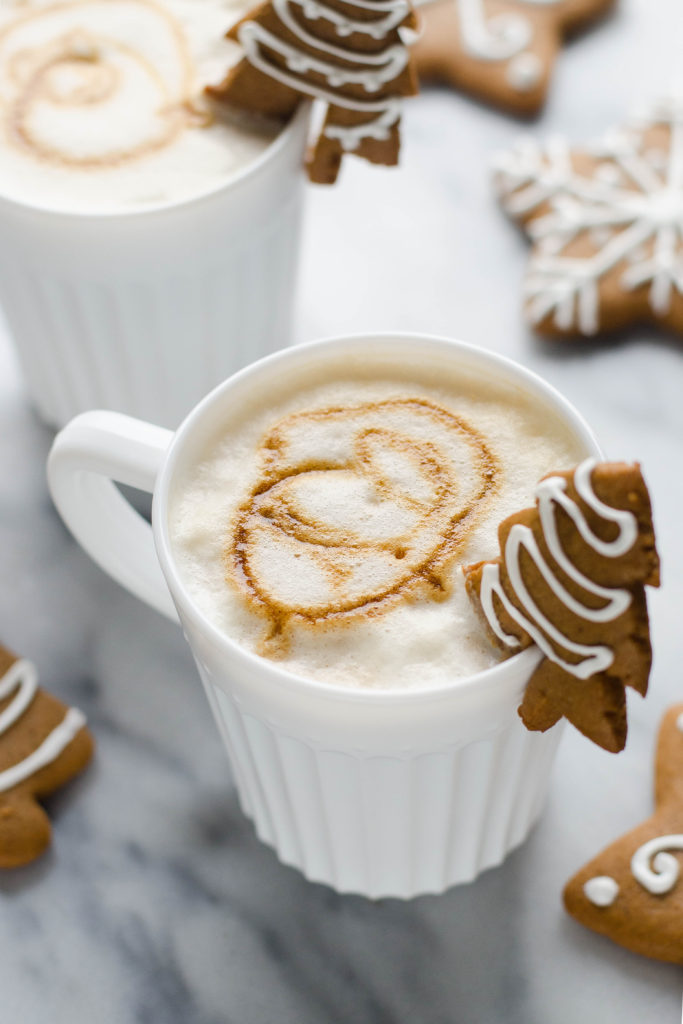How to Make a Gingerbread Latte