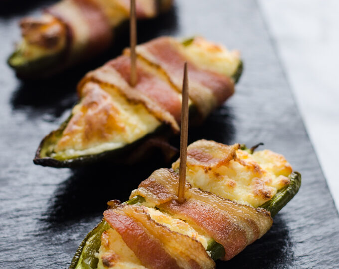Gluten Free Bacon Jalapeno Poppers