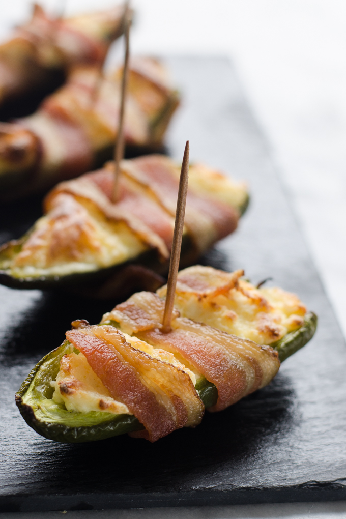 Gluten Free Bacon Jalapeno Poppers - Buttered Side Up