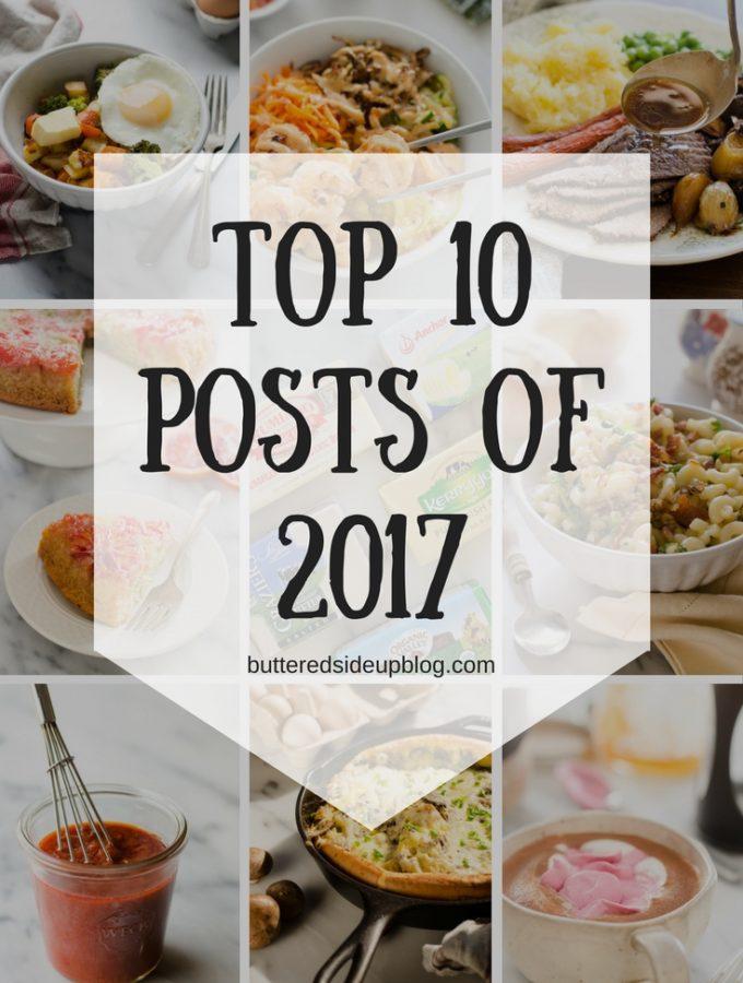 Top 10 Posts of 2017
