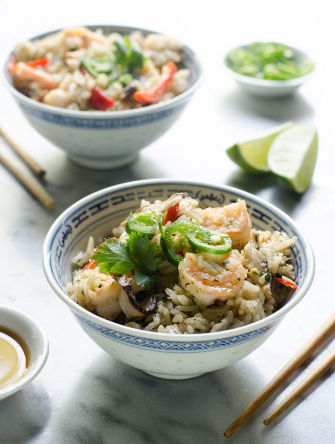 One-Pot Shrimp and Coconut Rice + Life Lately