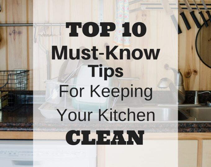 Tips for Keeping Your Kitchen Clean