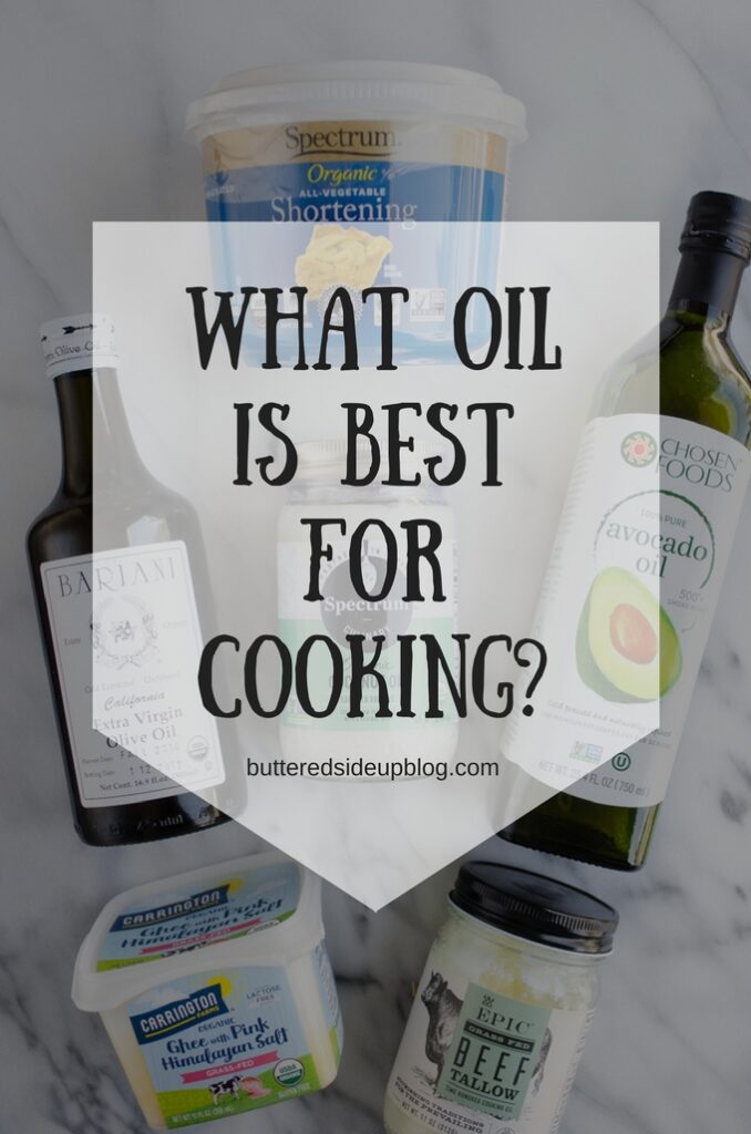 What Oil is Best for Cooking?